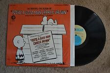 Charlie Brown You're A Good Man w/ booklet  shrink Record lp NM