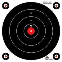 Sh-s-2 Rc [shs2(rc)] See-hit Fracturing Bullseye Targets, 15 X 15