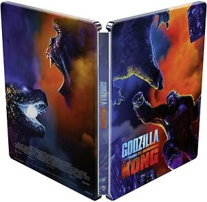 GODZILLA  Vs. KONG 4K UHD COLLECTOR`S STEELBOOK / PRE-SALE / WORLDWIDE SHIPPING
