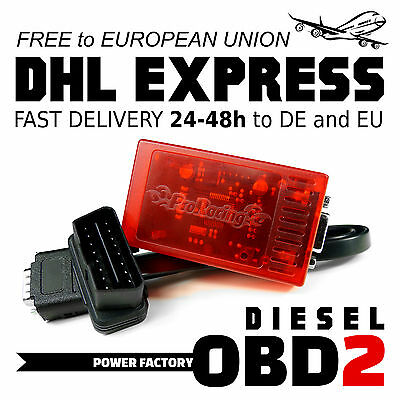 Chiptuning OBD2 MERCEDES E 250 300 CDI W212 Chip Box Tuning TuningBox OBD 2 II