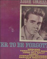 """Eddie Cochran """"Never To Be Forgotten"""" (Liberty) SEALED"""