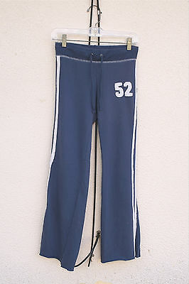 FOREVER 21 Size Small (Short) Track Jogging Sweat Pants Racing Stripes #52