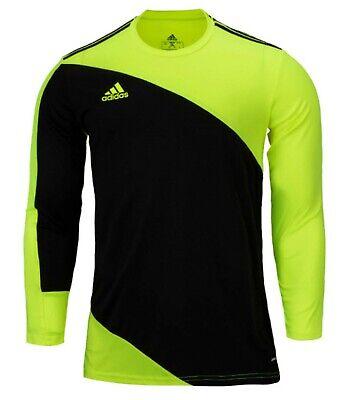 Adidas Men Squadra 21 Goalkeeper Shirts Soccer Green GK Football ...