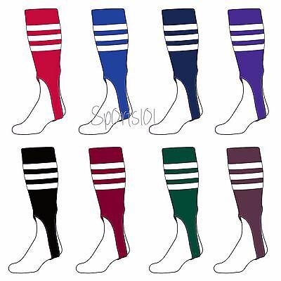 Trenway textiles Adulte Baseball//Softball Cheville Stirrup Chaussettes-plusieurs couleurs