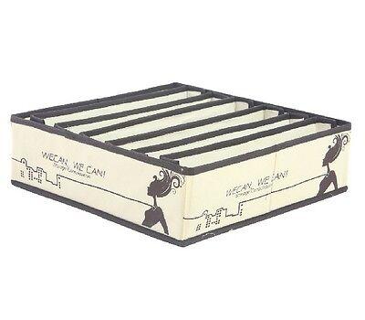 Charcoal Bra Drawer Closet Divider Storage Organizer