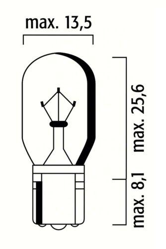 12V 10W T13 WEDGE WHITE BULB CAR MOTORCYCLE LAMP PANEL LIGHT DASHBOARD INDICATOR