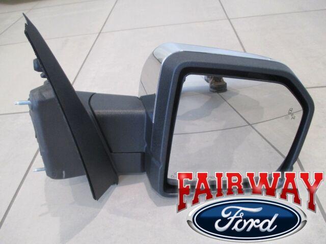 F  Oem Ford Heat Signal Power Fold Blis Mem Chrome Rh
