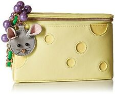 Betsey Johnson Kitsch Big Cheese Queso Emergency Mouse Wristlet Purse