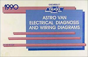 details about 1990 chevy astro van wiring diagram manual 90 chevrolet electrical schematics 1998 astro van wiring diagram 1990 chevy astro wiring diagram #10