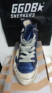 Bleu Francy Goose 35 neuf Paillettes G24d120p4 Original Golden Encre Sneakers xqFpwF1Y