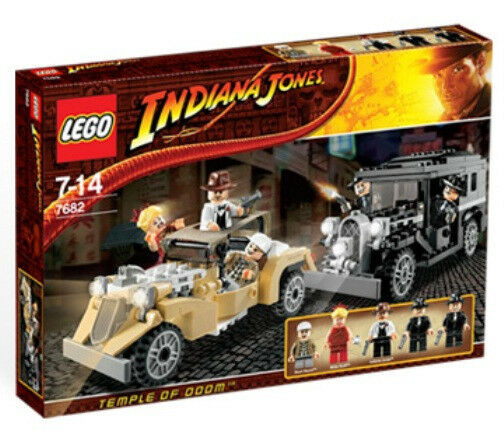 Lego 7682 Shanghai Chase Indiana Jones Gangsters Willie Scott  Sealed Box