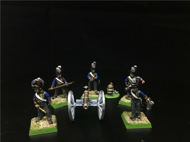 1 56 28mm Napoleonic Wars DPS Painted British Horse Artillery GH1197