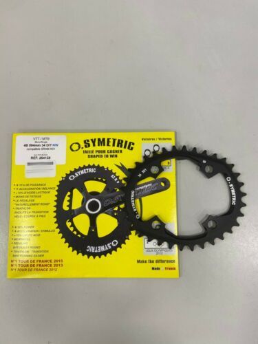 Osymetric MTB BCD 94x4 Single 34T X01 Black Aluminum 7075 Chainring