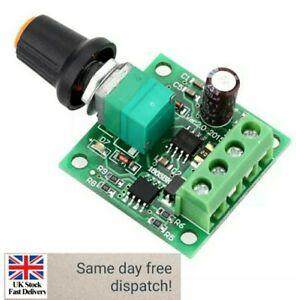 U6q3 Low Voltage DC PWM Motor Speed Controller Module 1.8v 3v-5v-6v 12v 2a