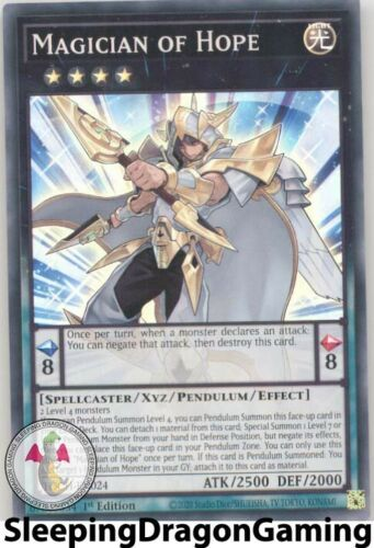Super Rare Yugioh TOCH-EN024 Magician of Hope