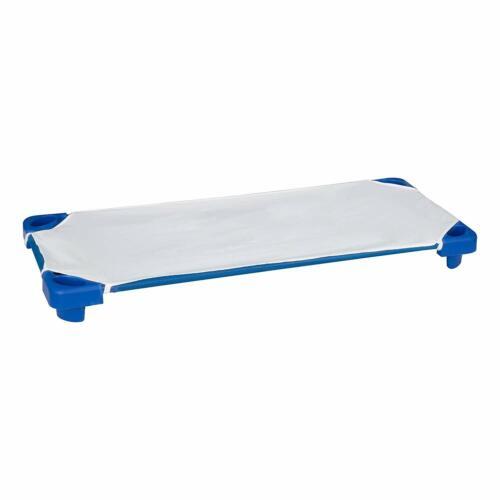 "SPG-021-5 52/"" W x 23/"" D SPPROG empilable Garderie Lit Bébé//reste Tapis Standard bleu"