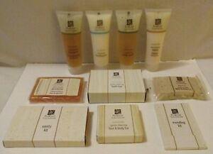 ProTerra Travel Size Toiletries 10 Pc Lot Honey Vanilla Shampoo Lotion Bath Soap