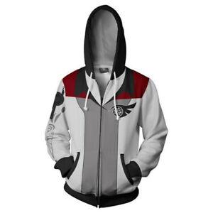 Game of Thrones 3D Hoodie Sweatshirt Hooded Coat Jacket Zip Up Cosplay Costume