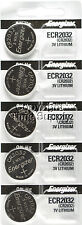 5 pcs 2032 Energizer Watch Batteries CR2032 CR2032 Original Lithium Battery 0%HG