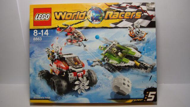 LEGO® World Racers 8863 Schneesturm in der Antarktis   NEU OVP