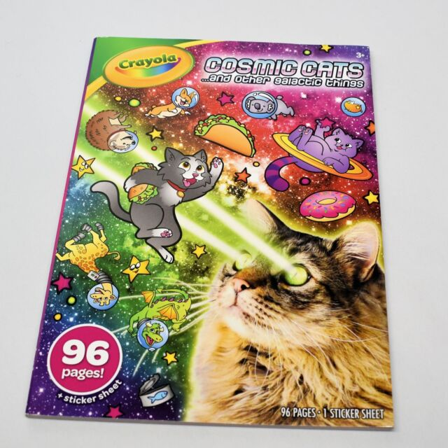 Crayola Coloring Book Cosmic Cats and Other Galactic ...