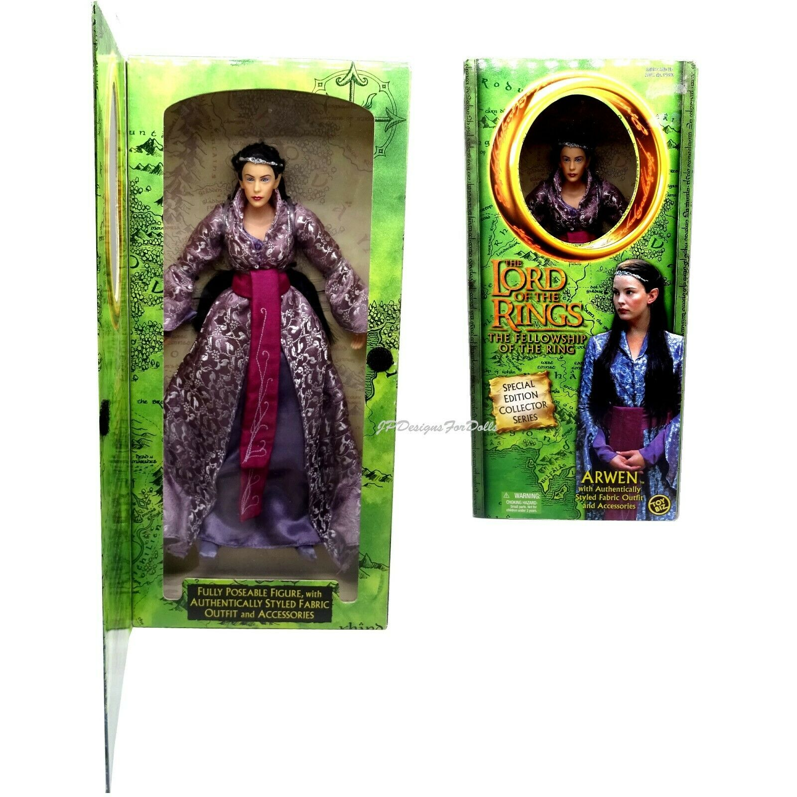 The Lord of The Ring Special Edition Arwen 12  Figure Doll Very Worn Box