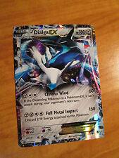 PL Pokemon DIALGA EX Card PHANTOM FORCES Set 62/119 XY X and Y Ultra Rare TCG