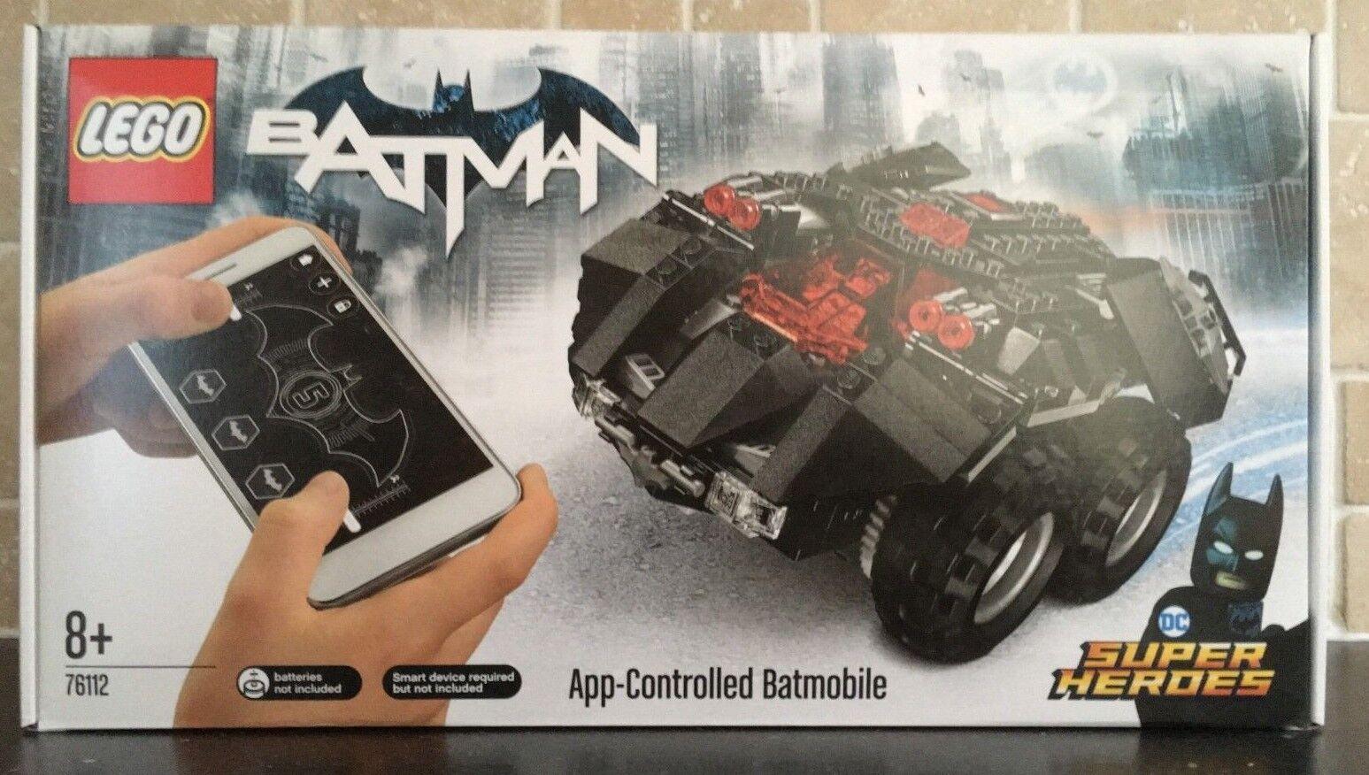 LEGO DC SUPER HEROES -76112 BATMAN App-Controlled Batmobile Brand New & Sealed