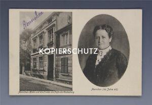 Ansichtskarte-AENNCHEN-HEIM-am-FUssE-der-GODESBURG-um-1925
