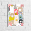 Cute-Animal-Print-Picture-for-Nursery-Childs-Kids-Children-039-s-bedroom miniature 3