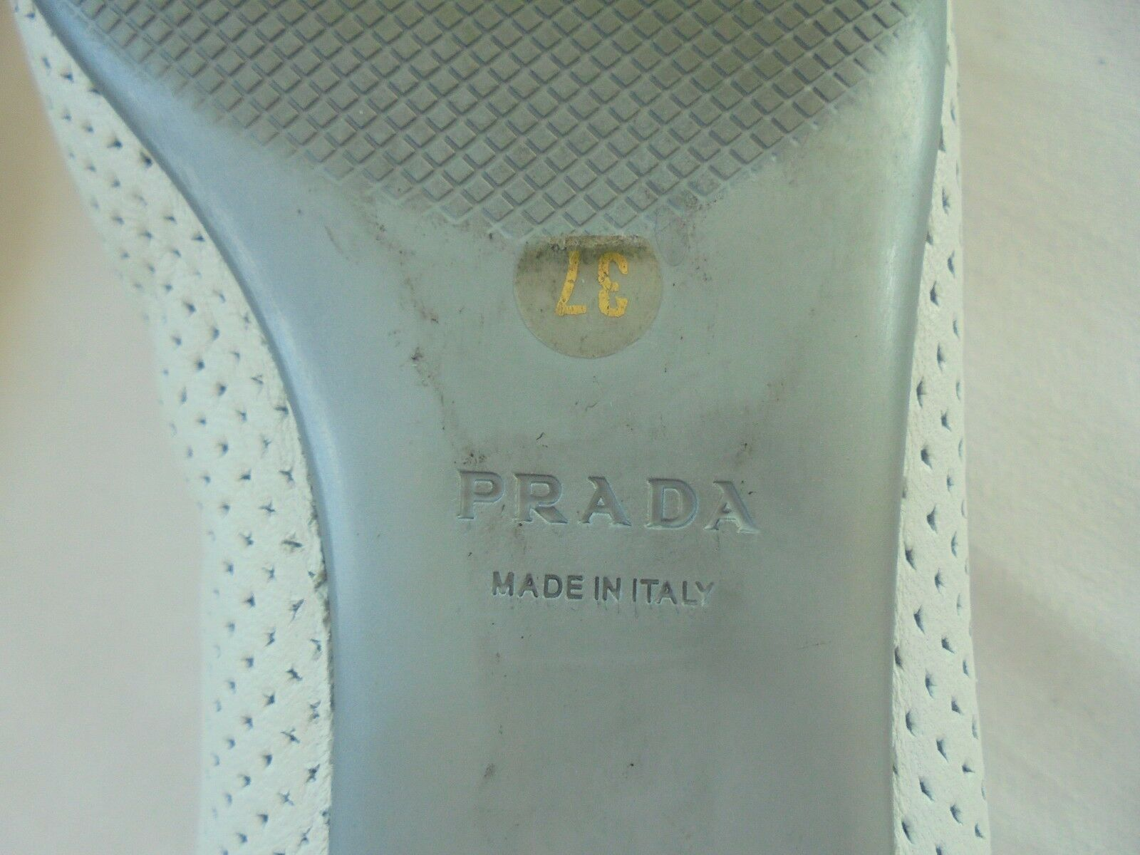 Original Prada Leder Ballerinas NP  TOP Designer 37 Luxus Schuhe Pumps Gr. 37 Designer faa93a