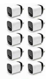 10x-1A-USB-Wall-Charger-Plug-AC-Home-Power-Adapter-For-Phone-5-6-Samsung-Android