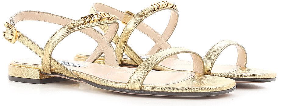 Prada Sandalias de de de mujer Zapatos de 515 £Logo Letras женская обувь сандалии 100% Aut.  Tu satisfacción es nuestro objetivo