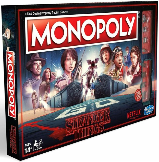 Monopoly Stranger Things Limited Edition New Sealed Box For Fans 2 to 8 Players