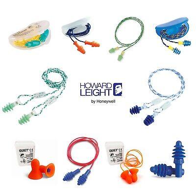 Fusion small Corded Ear Plugs 28db Honeywell Howard Leight Reusable Earplugs