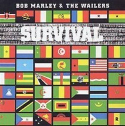 1 of 1 - Bob Marley and The Wailers - Survival CD Island 30 DAYS WARRANTY.