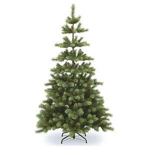 Albero Di Natale Ebay.Albero Di Natale 210 Cm Verde Pigne Woodland Carolina Ebay