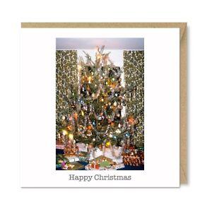 Details About 1970s Vintage Retro Nostalgic Christmas Tree Decorations Presents Card Honovi