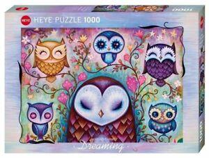 Heye Puzzle - 1000 Pezzi Ottima Big Owl HY29768