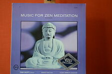 music for zen meditation scott/Yuize/Yamamoto Verve 1965  Vinyl  LP VG++ 1347