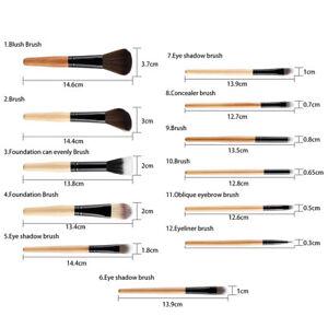 Set-12pcs-Holz-Make-up-Pinsel-Kit-Lidschatten-Foundation-Kit-Leopard-Print
