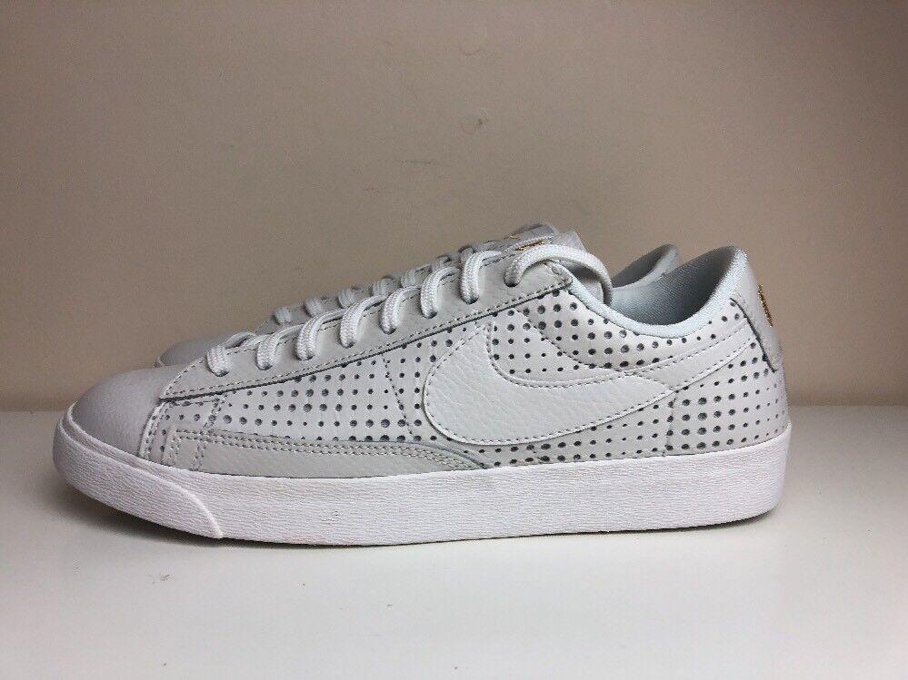 Nike Blazer Low Low Low se Premium Da Donna Tg EUR 39 AA1557 Bianco 100 c4873e