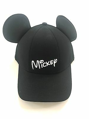 Disney Mickey Mouse Standing Baseball Red beige Youth Kids Hat Cap