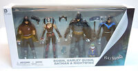 Batman Arkham City Figure 4-pack Batman Harley Quinn Nightwing Robin