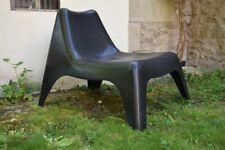 Fauteuil chaise à palabre bain de soleil transat vintage années 70 80 Design