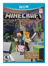 Minecraft: Wii U Edition [Nintendo Wii U Bonus Super Mario Mash-Up Video Game]