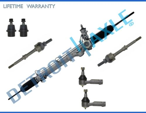 Complete 7pc Power Steering Rack and Pinion Suspension Kit for F-150-2WD ONLY