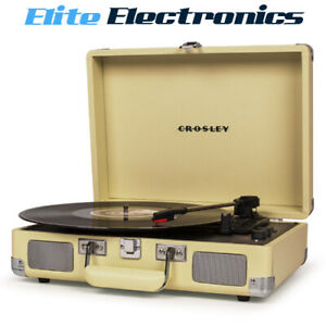 Crosley Cruiser Deluxe Portable Turntable Fawn