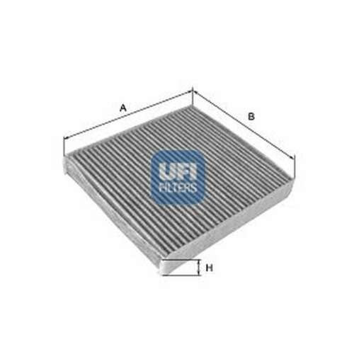 54.219.00 Genuine UFI carbone activé cabine Pollen Intérieur Filtre à air