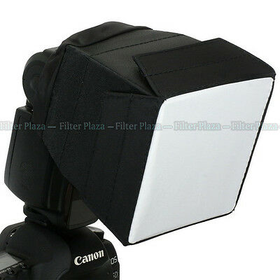 Universal Foldable Flash Diffuser Soft Box For Canon 600EX 580EX 430EX II 380EX